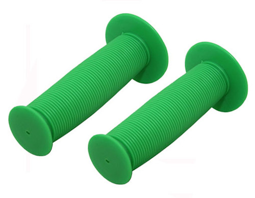 Fixed Gear Green Rubber Mushroom  Grips