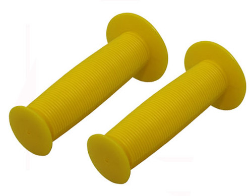 Fixed Gear Yellow Rubber Mushroom  Grips