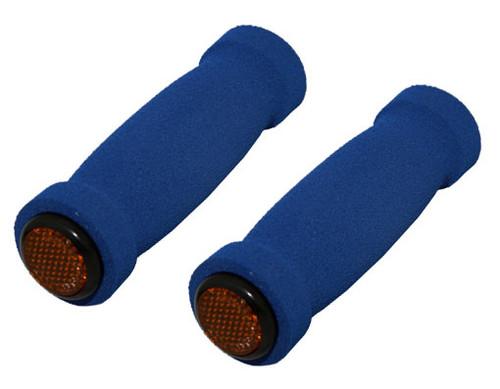 Cruiser Blue Foam Short Grips