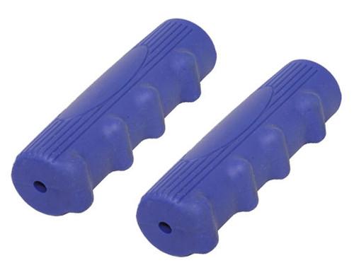 Lowrider Blue Rubber Custom Kraton Grips