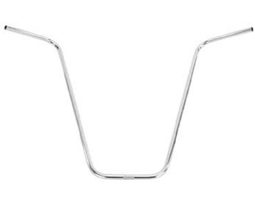 Lowrider Chrome Steel V Handle Bars 13""