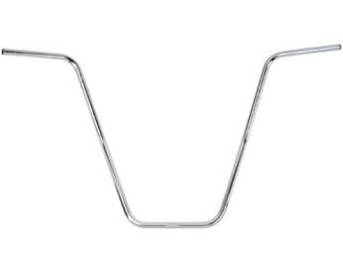Lowrider Chrome Steel Dyno Style Handle Bars 16""