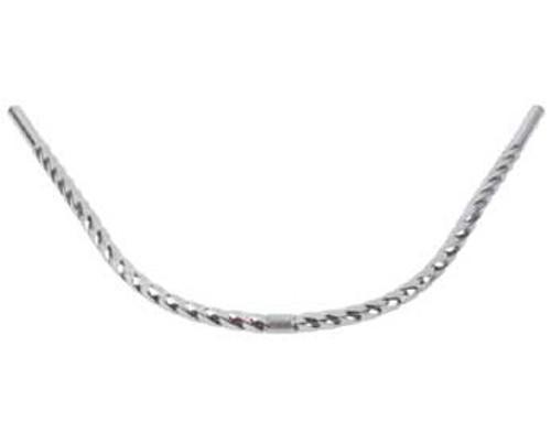 Lowrider Chrome Steel Twisted Moon Handle Bars 25.4mm Dia