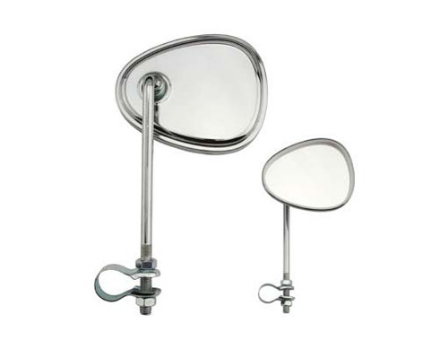 Cruiser Chrome Steel V  Mirrors