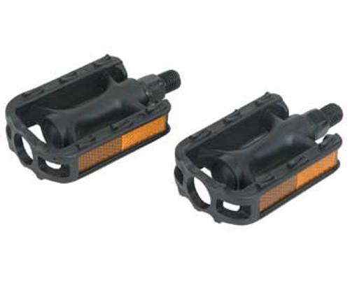 """Cruiser Black Plastic 105n Pedals 9/16"""""""