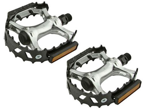 """BMX Black Steel & Aluminum VP-477 Pedals 9/16"""""""