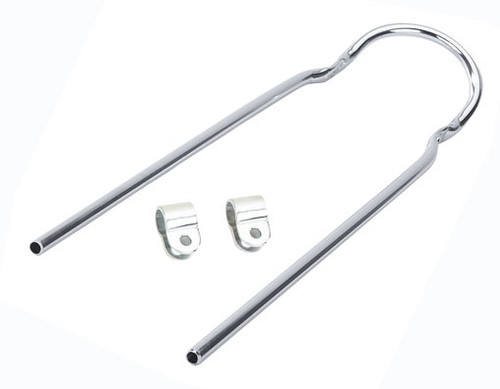 "Lowrider 20"" Chrome Steel With Clamps Sissy Bars 22"""