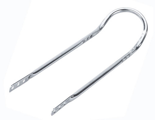 "Lowrider 20"" Chrome Steel Short Back Sissy Bars 24"""