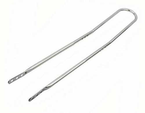 "Lowrider 20"" Chrome Steel High Back Sissy Bars 36"""