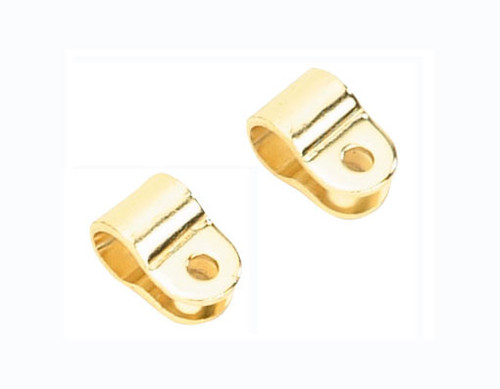 Bicycle Gold Steel Clamp Sissy Bars