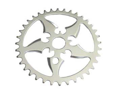 "Chopper 20"" Chrome Steel Sword Sprockets 36 Teeth 1/2 X 1/8"