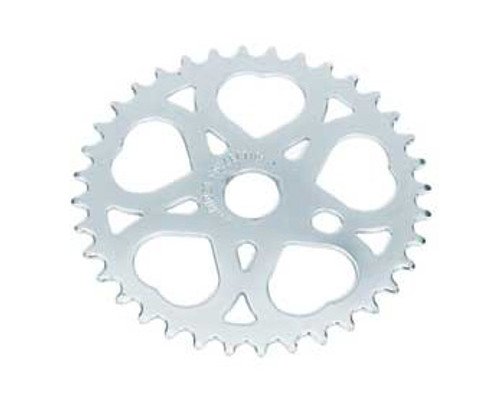 "Lowrider 20"" Chrome Steel Sweet Heart Sprockets 36 Teeth 1/2 X 1/8"