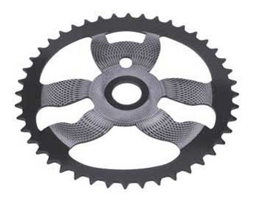"BMX 26"" Black/Chrome Steel Cs-958-1 Sprockets 44 Teeth 1/2 X 1/8"