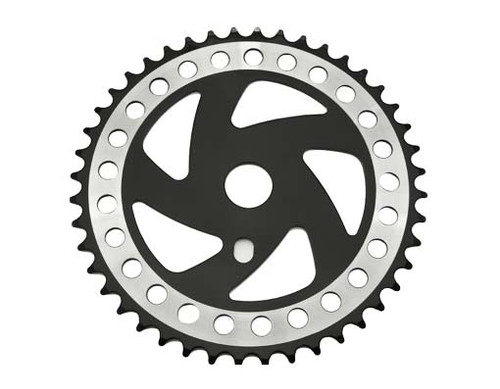 "Chopper 26"" Black/Chrome Steel Cw358 Sprockets 44t 1/2x3/32"