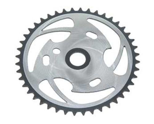 "BMX 26"" Black/Chrome Steel Zt7b-d Sprockets 44 Teeth 1/2 X 1/8"