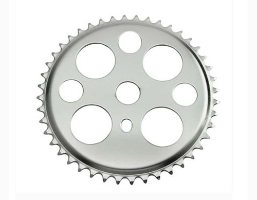 "Lowrider 26"" Chrome Steel Lucky 7 Sprockets 44t 1/2x3/32"