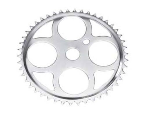 "Cruiser 26"" Chrome Steel W/4 Circles Sprockets 46 Teeth 1/2 X 1/8"