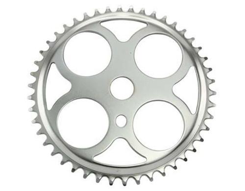 "Cruiser 26"" Chrome Steel W/4 Circles Sprockets 46t 1/2x3/32"