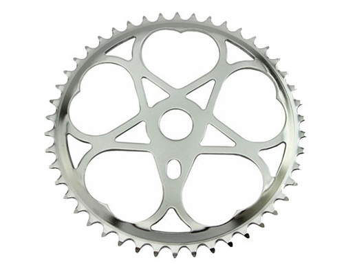 "Lowrider 26"" Chrome Steel Js-s46 Sprockets 46t 1/2x3/32"