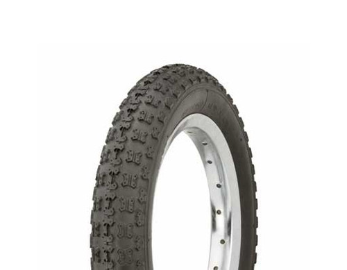 """Kids Bicycle 12"""" Black Rubber Duro HF-143G Tires 12 1/2"""" x 2 1/4"""""""