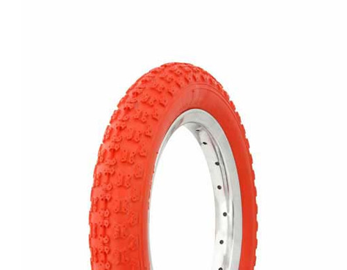"Kids Bicycle 12"" Red Rubber Duro HF-143G  Tires 12 1/2"" x 2 1/4"""