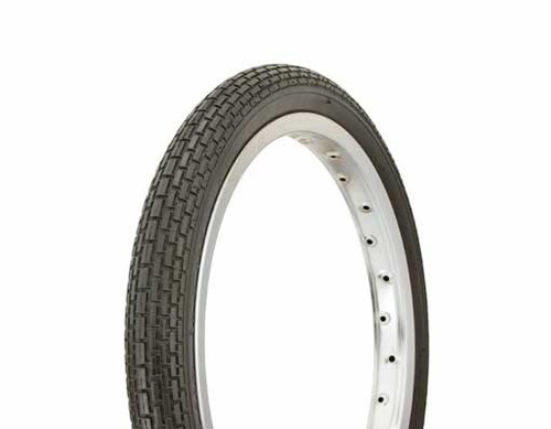 "BMX 16"" Black Rubber Duro HF-120A.  Tires 16"" x 1.75"""