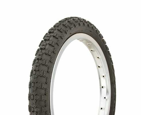 "BMX 16"" Black Rubber Duro HF-143G.  Tires 16"" x 2.125"""