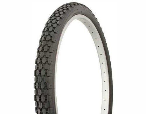 "Cruiser 26"" Black Rubber Duro HF-851.  Tires 26"" x 2.125"""