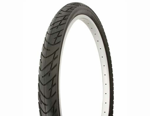"Cruiser 26"" Black Rubber Duro DB-1012.  Tires 26"" x 2.125"""