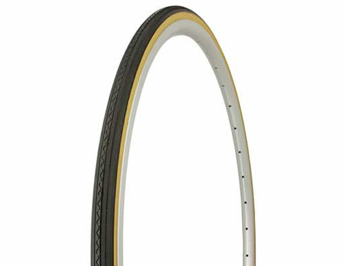Fixed Gear 700cc Black Rubber Duro Gum Wall HF-156. Tires 700 x 25c