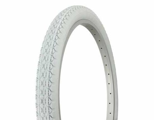 """BMX 24"""" White Rubber Duro HF-133 White Wall Tires 24"""" x 2.125"""""""