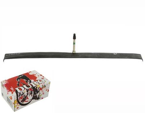 Fixed Gear 700cc Black Rubber Duro Presta Valve Tubes 700 x 20c/23c 52mm