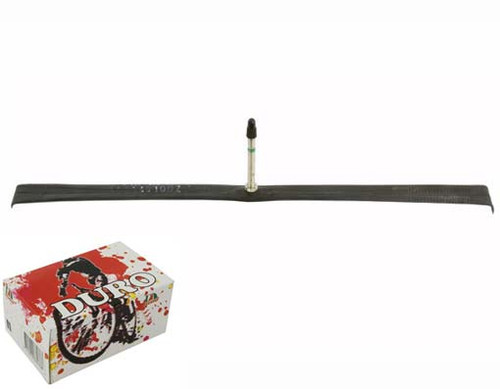 Fixed Gear 700cc Black Rubber Duro Presta Valve Tubes 700 x 20c/23c 60mm