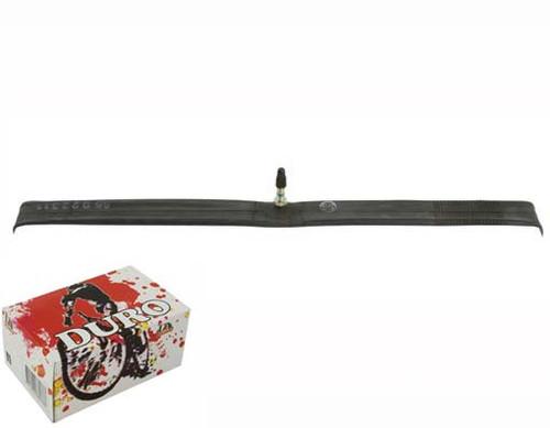Fixed Gear 700cc Black Rubber Duro Presta Valve Tubes 700 x 25c/28c