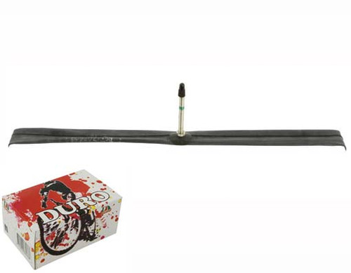 Fixed Gear 700cc Black Rubber Duro Presta Valve Tubes 700 x 25c/28c 60mm