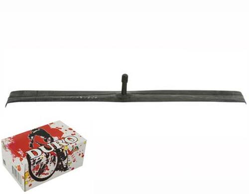 Fixed Gear 700cc Black Rubber Duro American Valve Tubes 700 x 35/38c