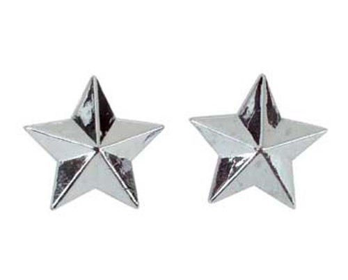 Fixed Gear Chrome Plastic Star Valve Caps
