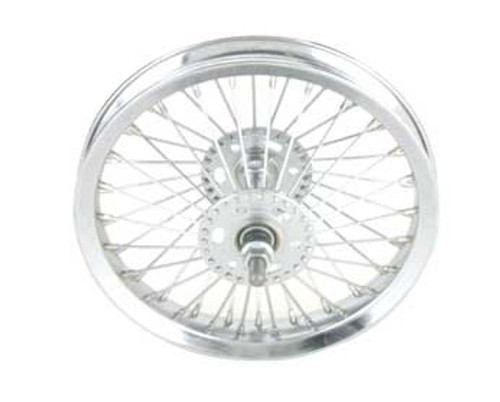 "Lowrider 12"" Chrome Steel 52 Spoke Front Wheels 12 1/2"" x 2 1/4"""