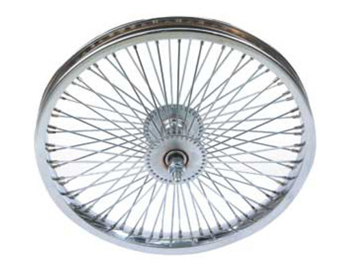 "Lowrider 16"" Chrome Steel 72 Spoke Coaster Wheels 16"" x 1.75"""