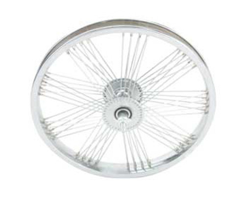 "Lowrider 16"" Chrome Steel Fan 72 Spoke Front Wheels 16"" x 1.75"""