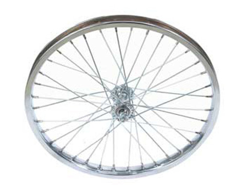 "Cruiser 20"" Chrome Steel Front Wheels 20"" x 1.75"""