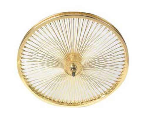 """Lowrider 20"""" Gold Steel 144 Spoke Front Wheels 20"""" x 2.125"""""""