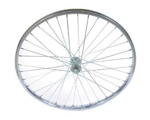 "Cruiser 26"" Chrome Steel Front Wheels 26"" x 1.75"""