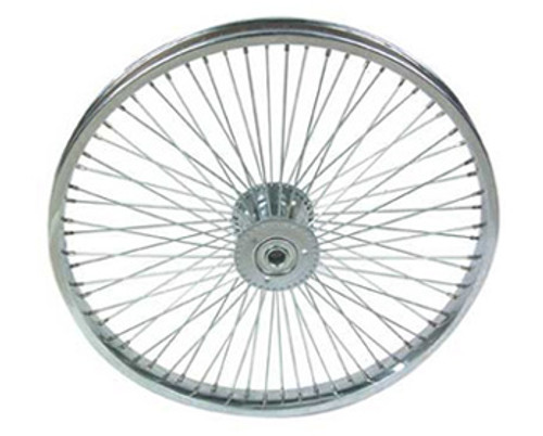"Lowrider 26"" Chrome Steel 72 Spoke Hollow-Hub Wheels 26"" x 2.125"""