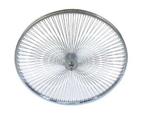 "Lowrider 26"" Chrome Steel 144 Spoke Coaster Wheels 26"" x 2.125"""