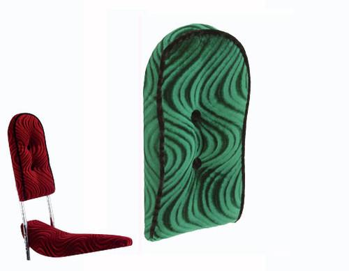Lowrider Green Velour Custom Back Cushion