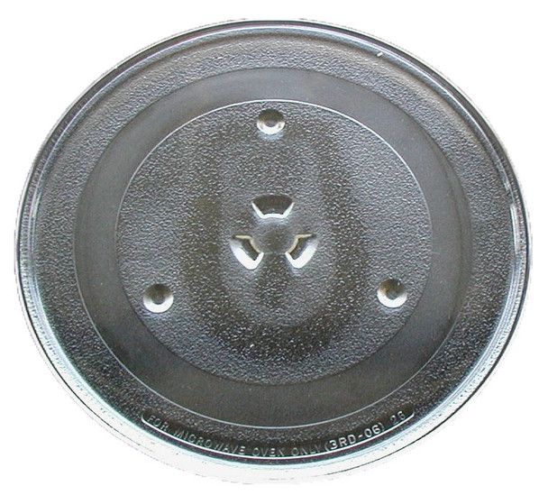 """G.E. Microwave Glass Turntable Plate / Tray 11 1/4 """" WB49X10097"""