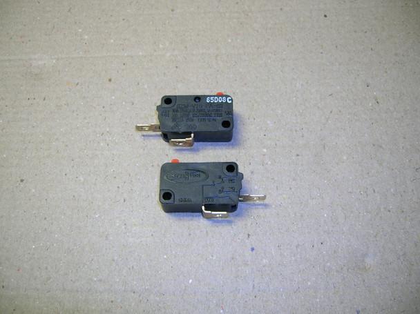 Single Microwave Oven Door / Interlock Switch 16A - N.O.