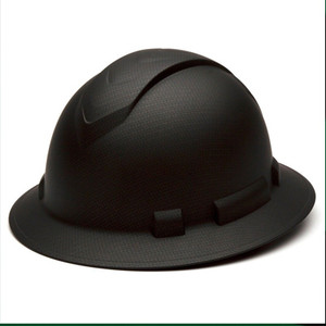 Ridgeline Hard Hat - Full Brim, Black Graphite (HP54117)