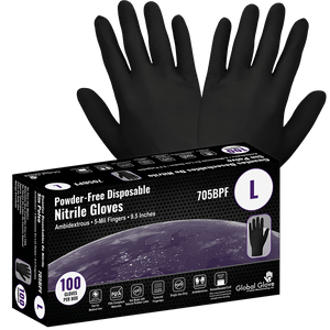 5-Mil Disposable Gloves 100/Box (705BPF)